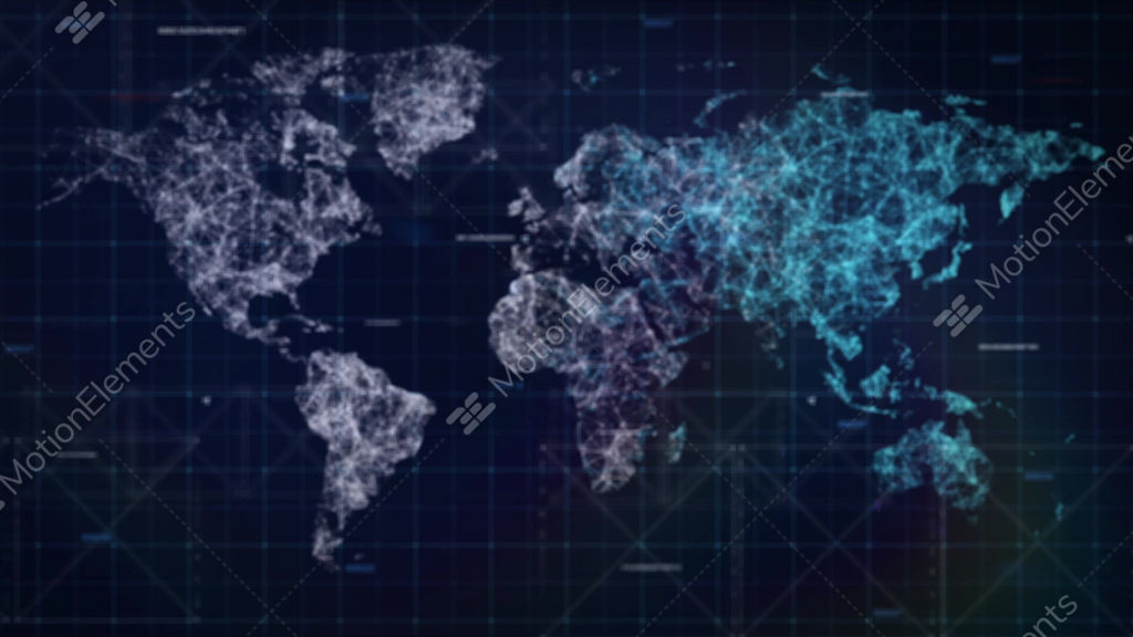Sci fi world map hud loop background stock animation 9688665 sci fi world map hud loop background stock video footage gumiabroncs Gallery