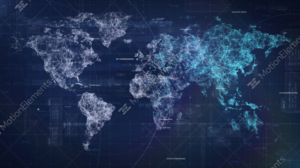 Sci fi world map hud loop background stock animation 9688665 sci fi world map hud loop background stock video footage gumiabroncs Choice Image