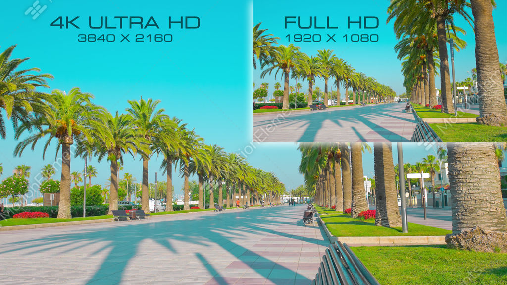 how to play 4k video on full hd tv