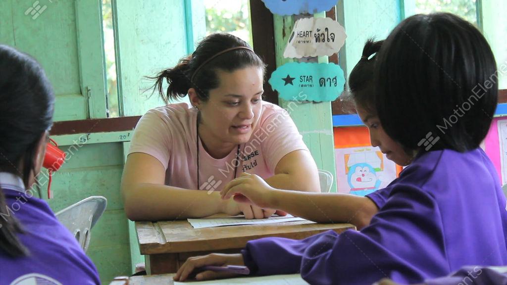 Teaching english to asians