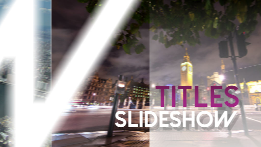 how to create slideshow in final cut pro