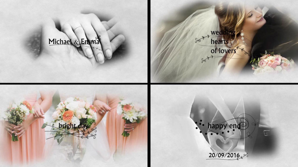 Wedding Slideshow After Effects templates | 7805478