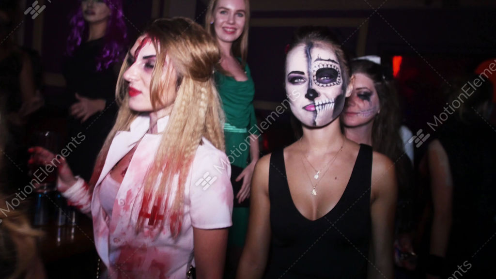 Sexy Halloween Party Video