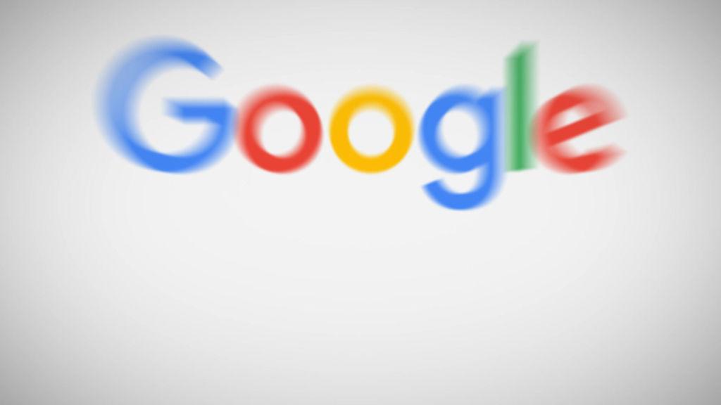 google search internet fly through media display logo